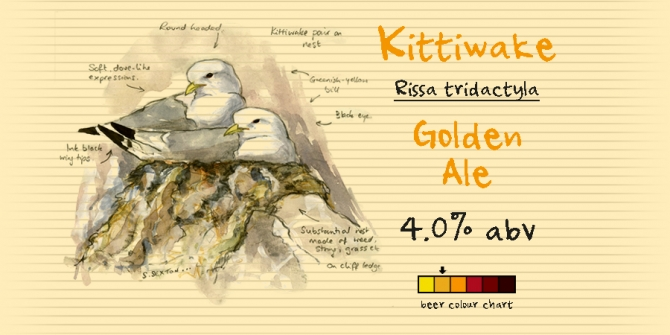 A Golden Ale, bright in the glass with a rounded, subtle and gentle flavour.